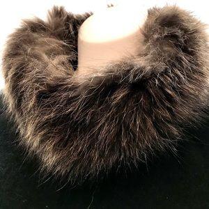 Genuine Vintage Raccoon Fur Collar